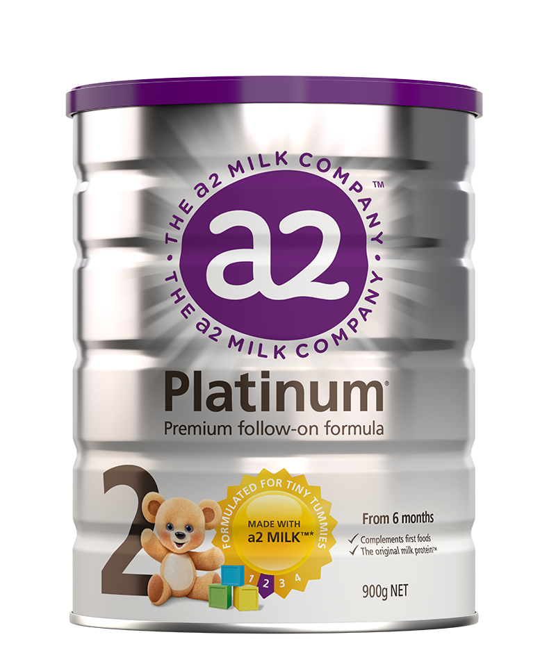 a2 Platinum® Premium follow-on formula: 6-12 months